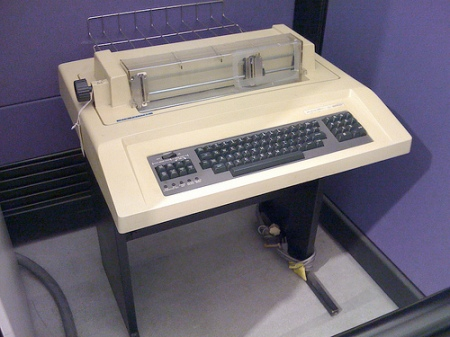 First Printer DecWriter