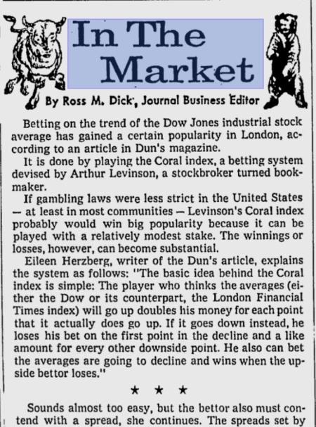 Coral Index 1971 Part 1