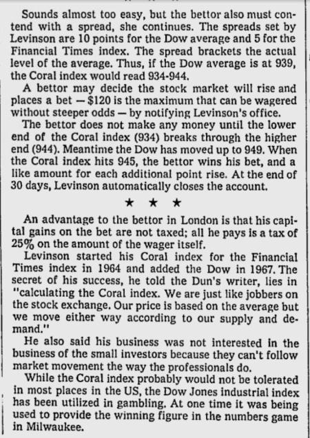 Coral Index 1971 Part 2